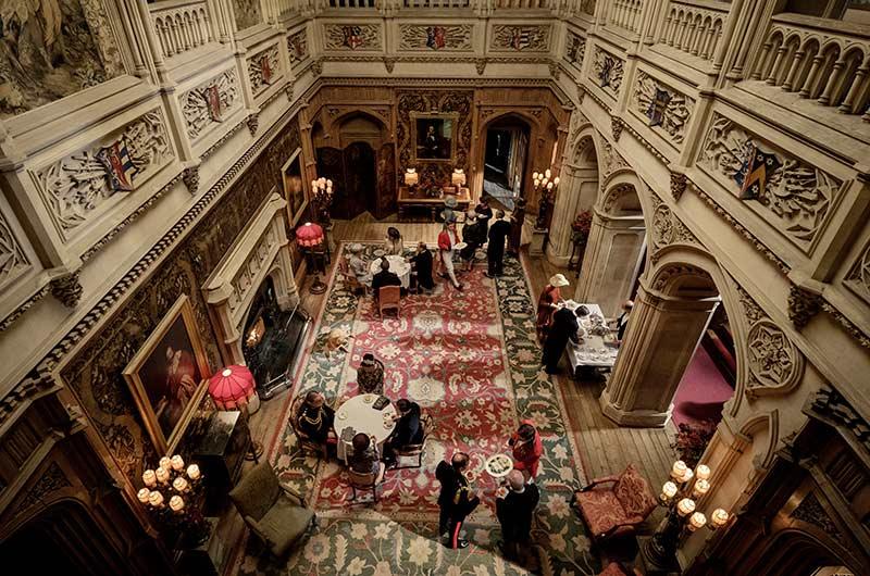 Set Decor Film Decor Features Downton Abbey
